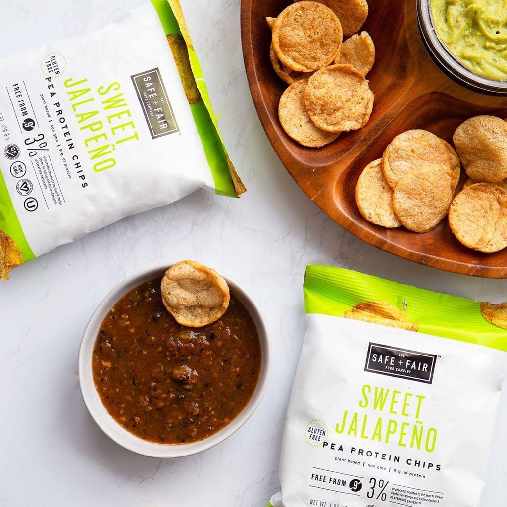 7 Healthy Protein Chip Alternatives Safe + Fair Pea Protein Chips - Swolverine